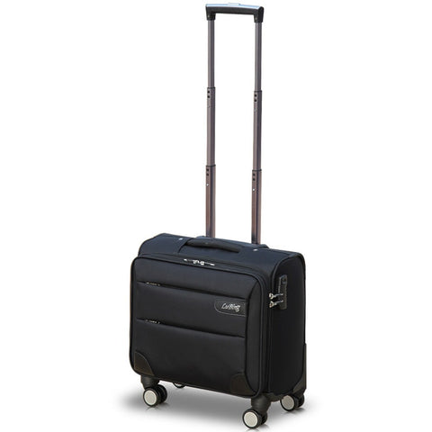 Universal Wheels Trolley Luggage Travel Bag Male Commercial Oxford Fabric Luggage Female,Mini