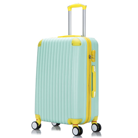 "Women'S Candy Color Rod Case,Universal Wheel Trolley Case,20""Boarding Box,Small Fresh"