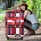 Plaid Trolley Luggage Female Male Universal Wheels Luggage Travel Bag Soft The Box Luggage Password