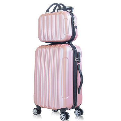 "2-Piece Set Suitcase,20-Inch Trolley Luggage,Universal Wheel 24 Inch Trolley Case,26""Password"