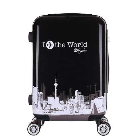 Mute Universal Wheel Lock Password Trip Case,Versatile Travel Luggage Bag,Convenient Fashion