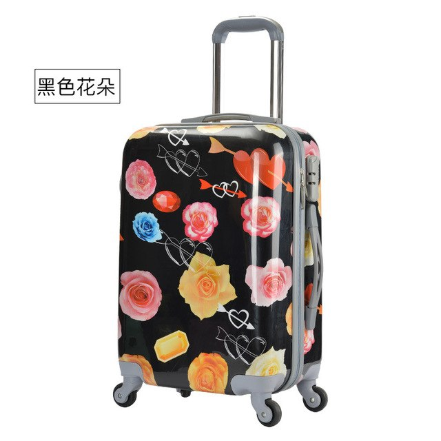 Abs+Pc Trolley Case,28 Inch Luggage,Fashion Suitcase,24 Inch Universal Wheel Password Lock Box,20