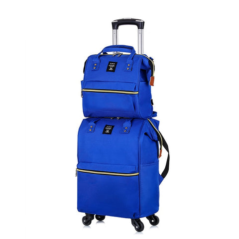 Oxford Cloth Luggage Case,Premium Nylon Suitcase,Fashion Trip Bag,Universal Wheel High Quality