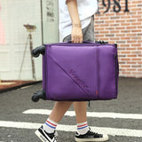 "Ultralight Trolley Case,Oxford Cloth Luggage,Caster Suitcase,20""Inch Boarding Box,Soft Shell"