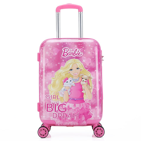 Traveling Luggage Bags With Wheels New Style 20 Inch Children Suitcase Spinner Unisex Luggage Bag
