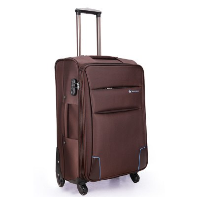 Universal Wheels Trolley Luggage Travel Bag Soft Box20 24 28 Ultra-Light Waterproof Oxford Fabric