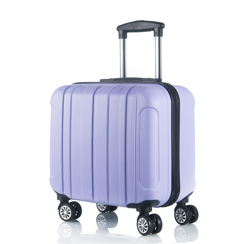 Luggage Suitcase 17Inch Spinner Carry-Ons Children Password Luggage Set Wearproof Travel Suitcase