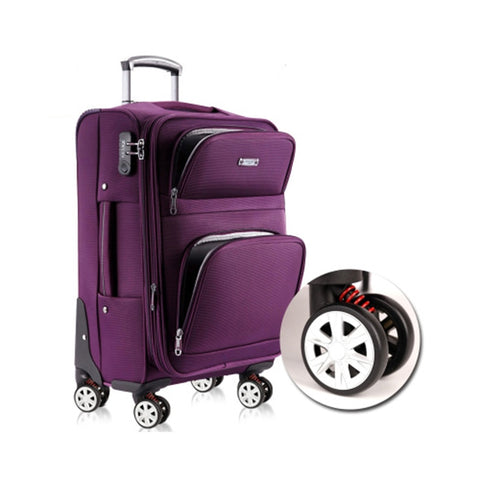 Oxford Rolling Luggage Business Suitcase Wheels Carry On Trolley,High Capacity Password Travel