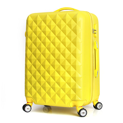 Wholesale!Girl Lovely Korea Fashion Abs Hardside Trolley Travel Luggage On Universal
