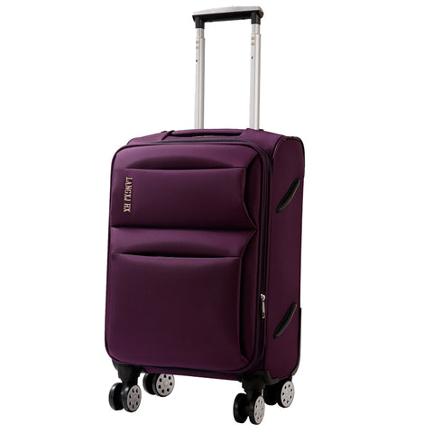 Wholesale!20 22 24 26 28Inches Oxford Silk Cloth Trolley Luggage On Universal Wheels,Male And