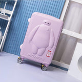 Universal Wheel Trolley Case,Children'S Tow Box,Anime Trip Bag,Cute 20 Inch Boarding