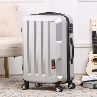 Male An Femaled Models Trolley Case,Pc24 Inch Lever Luggage Suitcase,Universal Wheel Trolley