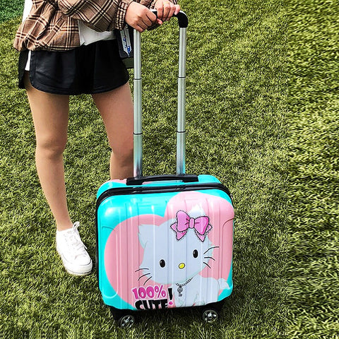 18Inch Universal Wheel Boarding Box,Stylish And Convenient Trolley Case,Password Rolling Box,Pc