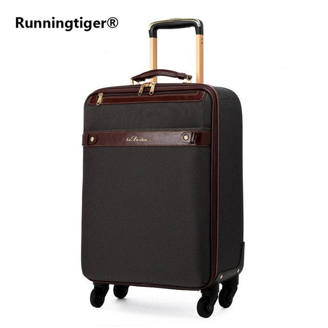 Stylish Oxford Cloth Luxury Men'S/Girl'S Rolling Luggage 16-Inch Boarding 22-Inch High-Quality