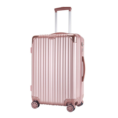 Wholesale!22Inches Abs Hardside Case Luxury Trolley Luggage Bags On Universal Wheels,Men And