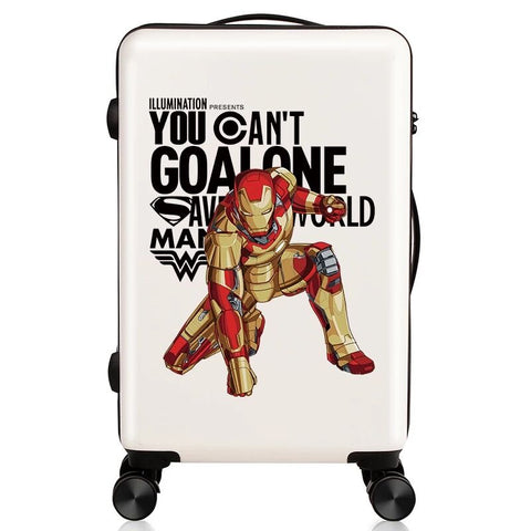 Rolling Suitcase,Fashion Travel Luggage,Personalized Universal Wheel Password Box,Boarding