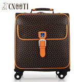 Business Casual Male Women'S Universal Wheels Trolley Luggage Bag Travel Bag Waterproof