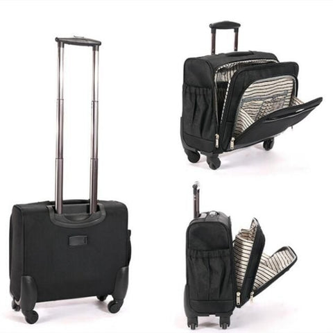 Men'S And Women'S Business Travel Luggage,Universal Wheel Trolley Case,Light Suitcase,Computer