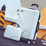 Wholesale!14 20Inches Abs Hardside Lovely Color Case Travel Luggage On Universal Wheels For Young