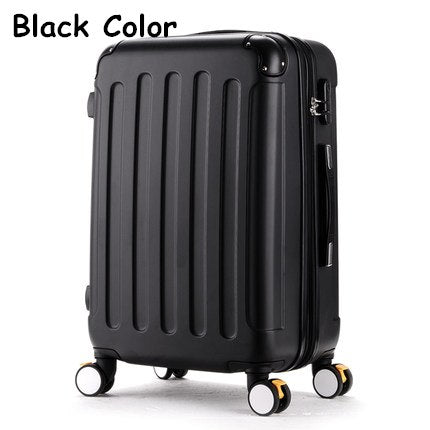Wholesale!High Quality 20Inches Candy Color Abs Pc Travel Luggage Bags On Brake Universal