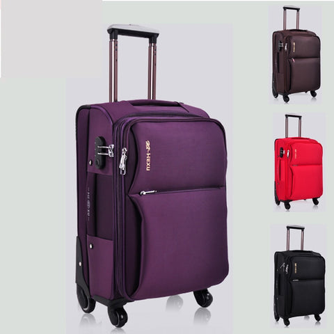 Universal Wheels Trolley Luggage Travel Bag Luggage 24 20 Luggage Oxford Fabric Box The Wedding Box