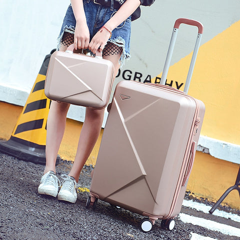 Wholesale!High Quality Travel Luggage Bags For Women,Mother And Son Luggage Sets For