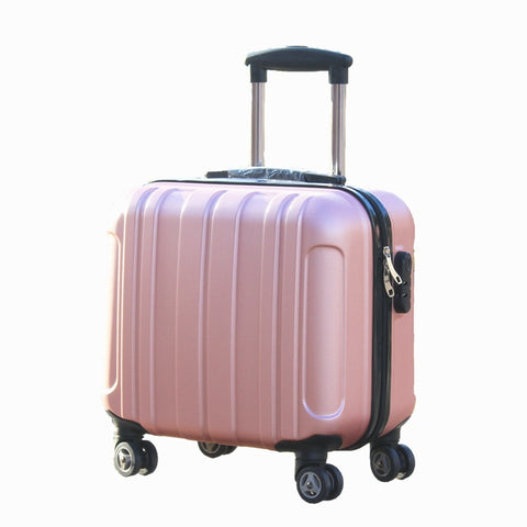 Universal Wheel Boarding Box,17-Inch Trolley Case,Password Trunk,Student Luggage,High Quality