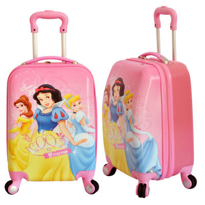 Travel Tale Lovely  Cartoon Abs+Pc 16/18 Inch Size Rolling Luggage Spinner Brand Children'S
