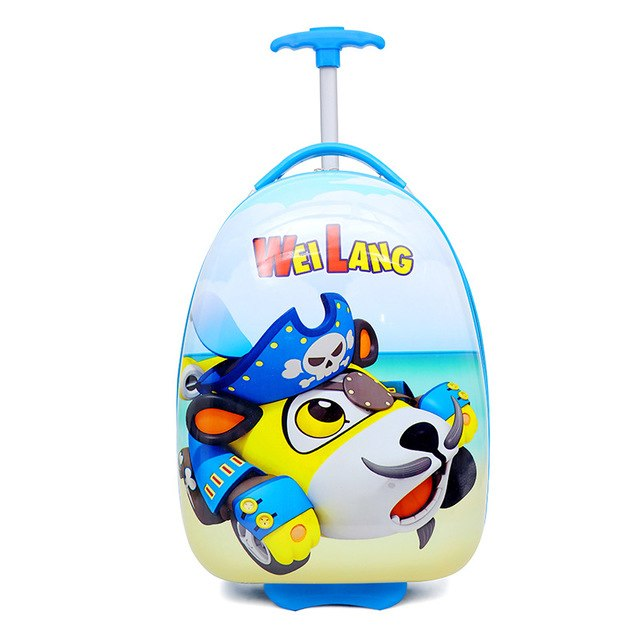 Lovely Cartoon Kid'S Travel Trolley Bags Suitcase For Kids Children Luggage Suitcase Rolling Case