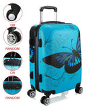 Au Shipping 20 24 28 Inch Unisex Trolley Luggage 4 Wheel Spinner Carry On Luggage Suitcase