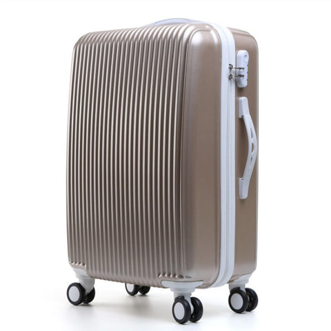 Pc Korean Trolley Case,Student Hand Push Box, Trip Suitcase Case,Universal Wheel Capacity