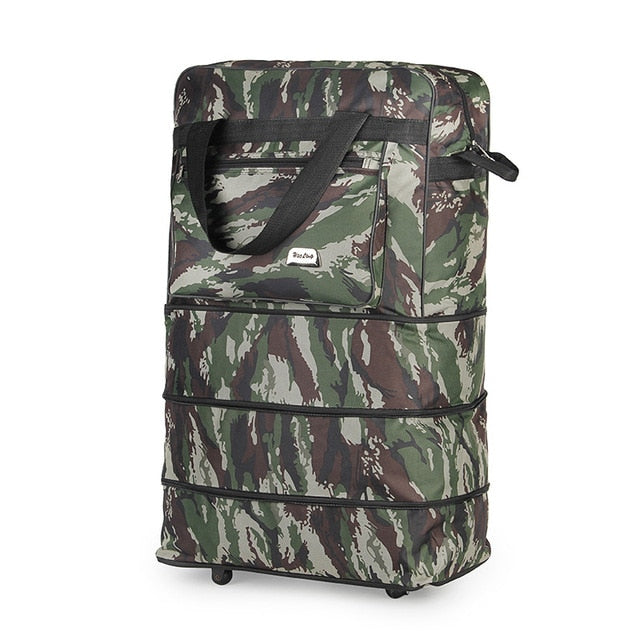 Travel Luggage Set 2018 New Camouflage Super Luggage Suitcase Spinner Travelling Bag Unisex