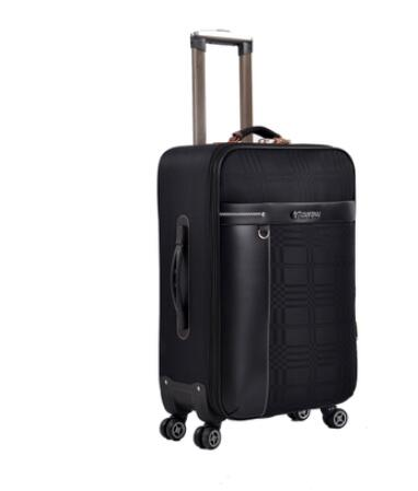 Oxford 24 Inch Travel Rolling Luggage Suitcase Business Travel Rolling Baggage Bags  Spinner
