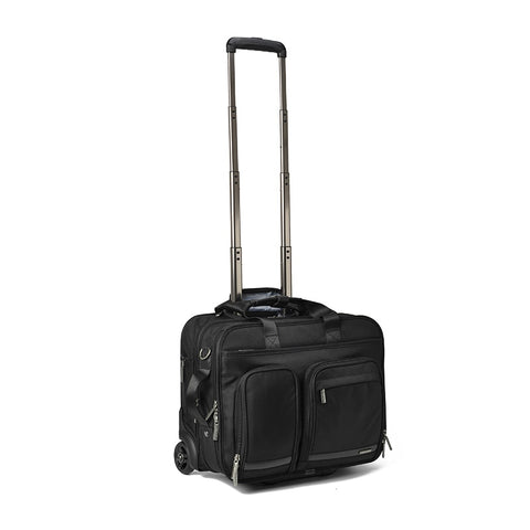 "18""Carry-Ons Trolley Case,Business Rolling Luggage,Multi-Function Password Box,Portable Boarding"