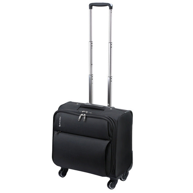 Universal Wheels Trolley Luggage Oxford Fabric Travel Bag 16 Password Box Luggage 18