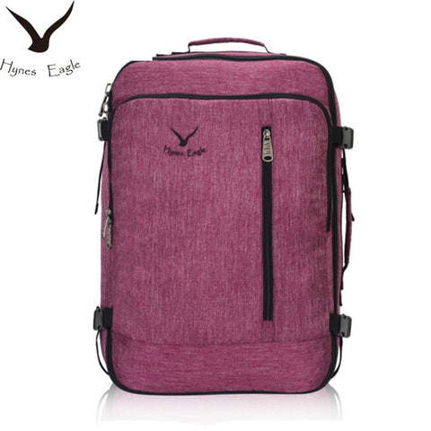 Hynes Eagle Brand Designer 38L Flight Approved Weekender Carry On Backpacks For Men Women Vintage