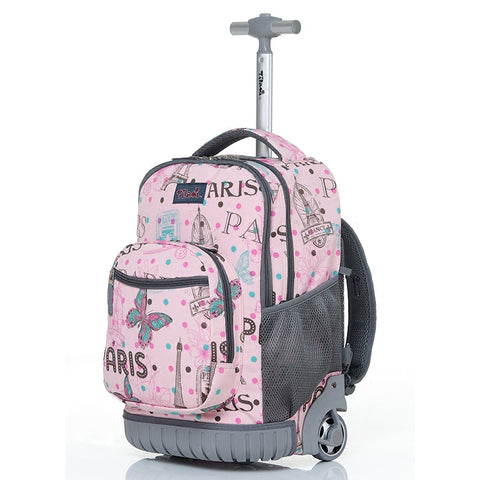 Personality Girl One-Way Wheel Trolley Bag,Student Suitcase,Multi-Function Luggage,16/18 Inch
