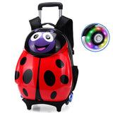 New Cartoon Kids Abs Spinner Rolling Luggage Trolley Case Children Bags Suitcase Carry Ons Boy Girl