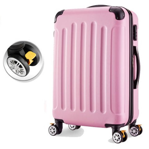 Rolling Luggage 26Inch Woman Travel Suitcase With Wheels Spinner Trolley Case Travel Bag Box 20Inch