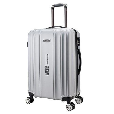"New!Fashion 20""24 Inches Trolley Case Abs Students Travel Waterproof  Carry On  Luggage Rolling"