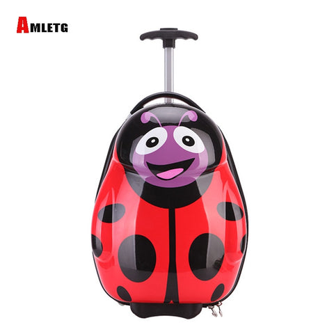 Amletg 2018 Traveling Trolley Bag Children'S Enfant Sac Suitcase Children'S Carrying Case Rolando