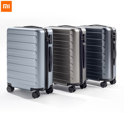 Xiaomi 90Fun Pc Suitcase Colorful Carry On Spinner Wheels Rolling Luggage Tsa Lock Business