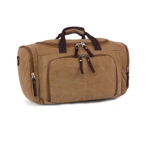 Canvas Men Travel Bags Carry On Luggage Bag Men Duffel Bag Multifunctional Travel Tote Large