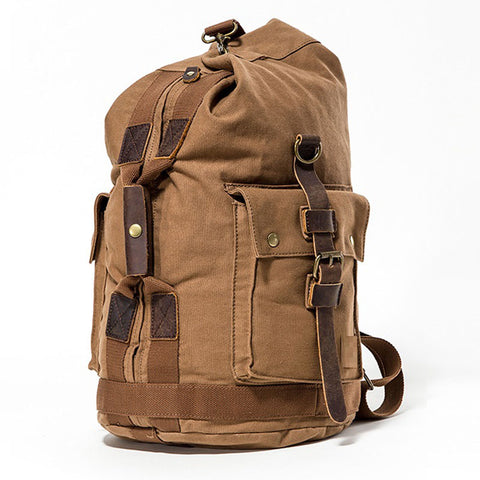 High Quality Promotion Fashion Designer Vintage Canvas Big Men Travel Bags Large Capacity Luggage