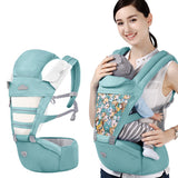 Detachable Baby Carrier Soft Hip Seat Front And Back Carry Positions For Infants And Toddlers