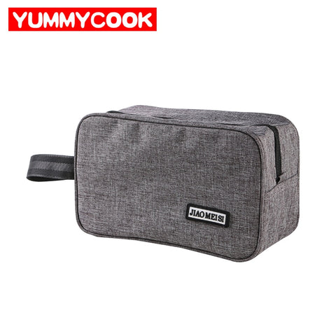 Men'S Cosmetic Storage Bag Wash Toiletry Cables Gadget Organizer Closet Bathroom Makeup Case