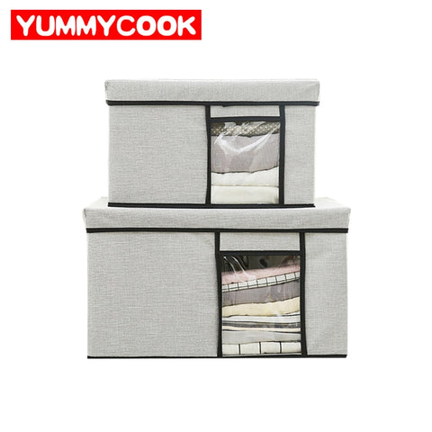 Home Storage Boxes Drawer Organizer Underwear Clothing Sundries Bins Makeup Cosmetics Case Wardrobe