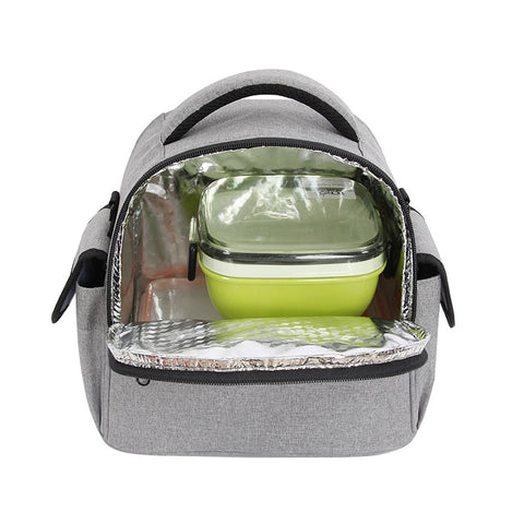 Waterproof Lunch Bag Men Cooler Lunch Box Container Food Fruit Drink Thermal Insulation Organizer