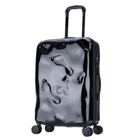 Rolling Spinner Luggage Travel Suitcase Women Trolley Case With Wheels 20Inch Boarding Carry On