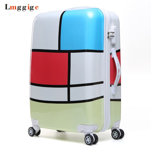 Girl'S  Rolling Luggage Bag, Wheels Suitcase Case,Lady Trolley Bag, Kids Gift ,  Women Travel Box